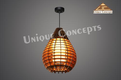 WOODEN PENDANT LAMPS