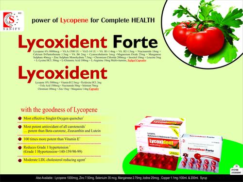 Antioxident  lycopene