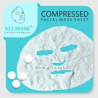 Compressed Facial Mask Sheet - 100% Original - ODM/OEM Customization Available