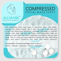 Compressed Facial Mask Sheet