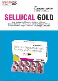 Methylcobalamin - 1500 mcg + calcitriol - 0.25 mcg + calcium carbonate - 500 mg (eq. to elemental calcium -200 mg) + pyridoxine Hcl- 3 mg + folic acid- 1.5 mg soft gelatin capsules