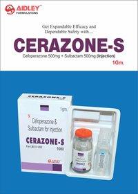 Cefoperazone 500mg + Sulbactam 500mg Injection