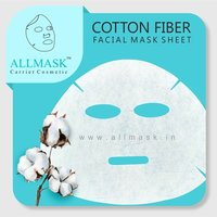 Cotton Facial Mask Sheet - 100% Original - ODM/OEM Customization Available