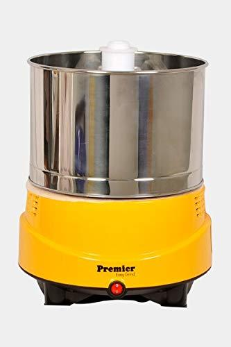 Premier Easy Grind Wet Grinder (World's First Light Weight Grinder) Yellow - 2 litres
