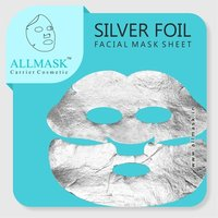 Silver Foil Facial Mask Sheet - 100% Original - ODM/OEM Customization Available