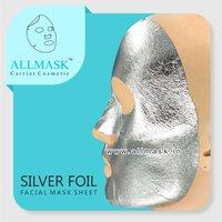 Silver Foil Facial Mask Sheet - 100% Original - ODM/OEM Customization Available