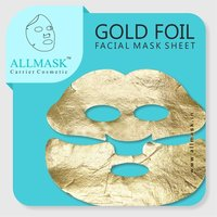 Gold Foil Facial Mask Sheet - 100% Original - ODM/OEM Customization Available