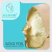 Gold Foil Facial Mask Sheet - 100% Original - ODM/OEM Customization Available