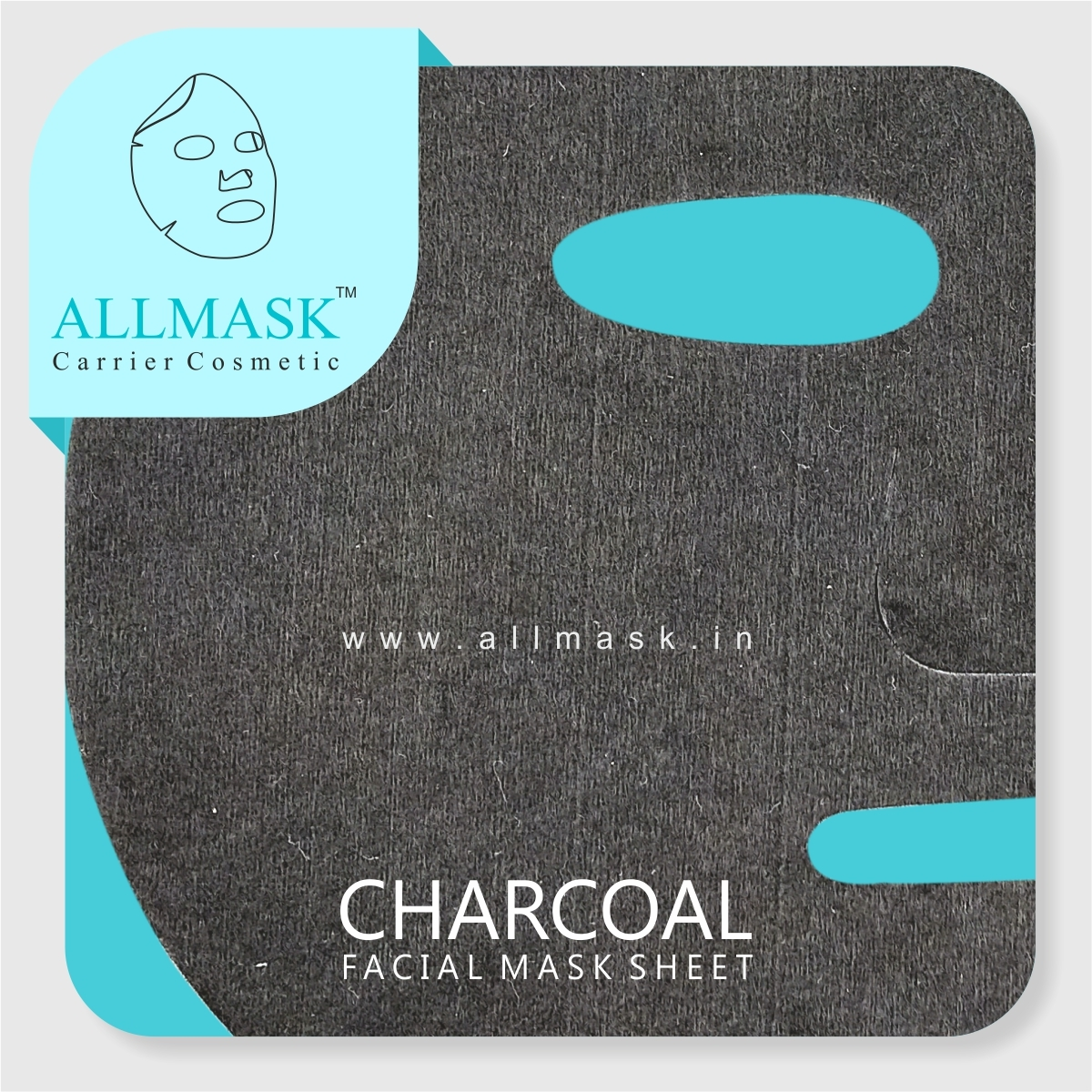 Charcoal Facial Mask Sheet - 100% Original - ODM/OEM Customization Available