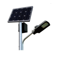 Stand alone Solar street light 12w