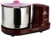 Bajaj WX 3 150-Watt Wet Grinder without Arm (Maroon)