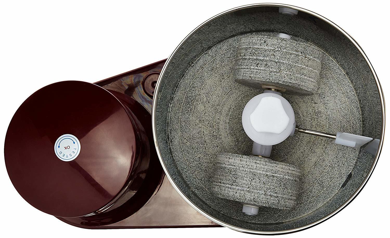 Bajaj WX 3 150-Watt Wet Grinder without Arm (Maroon)