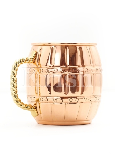 Barrel Shape Mule Mug
