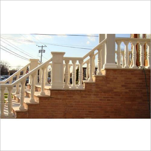Sandstone Baluster Railing