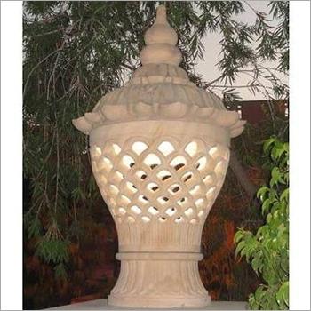 Garden Sandstone Lamp