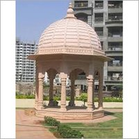 Dome Shaped Sandstone Temple