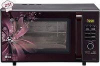 LG 28 L Convection Microwave Oven (MC2886BRUM, Black)