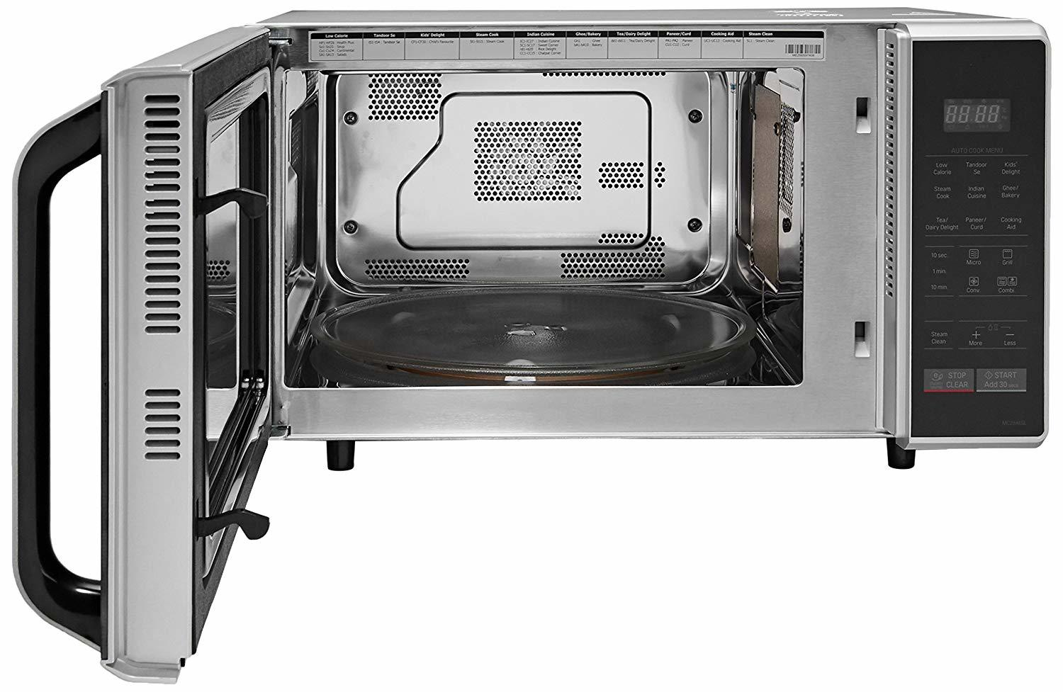 LG 28 L Convection Microwave Oven (MC2846SL, Silver)