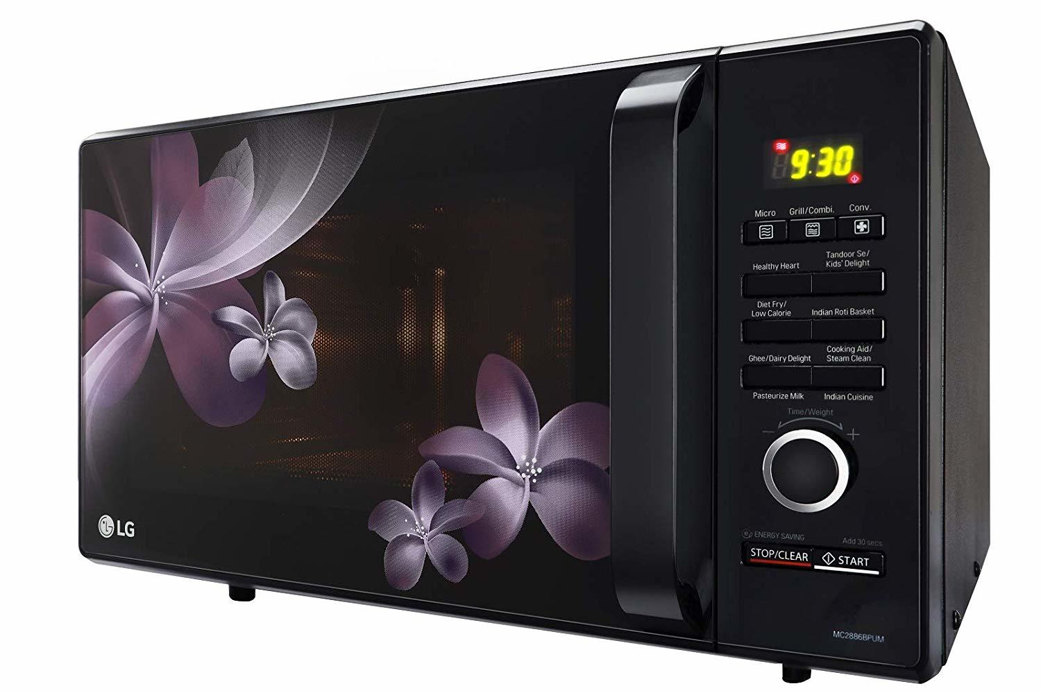 LG 28 L Convection Microwave Oven (MC2886BPUM, Black)