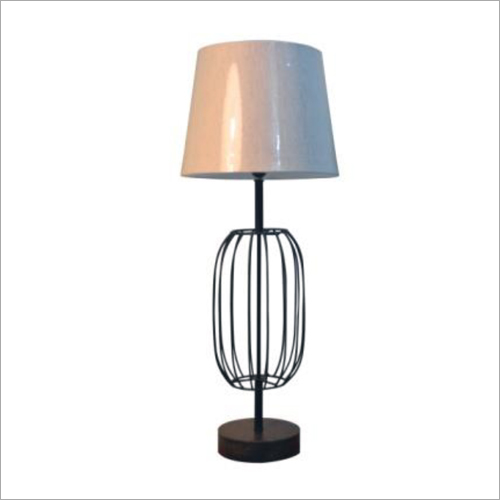 Pedestal Lamp And Stand