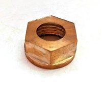 Brass Round Hex Nut