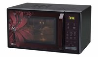 LG 21 L Convection Microwave Oven (MC2146BRT, Black)