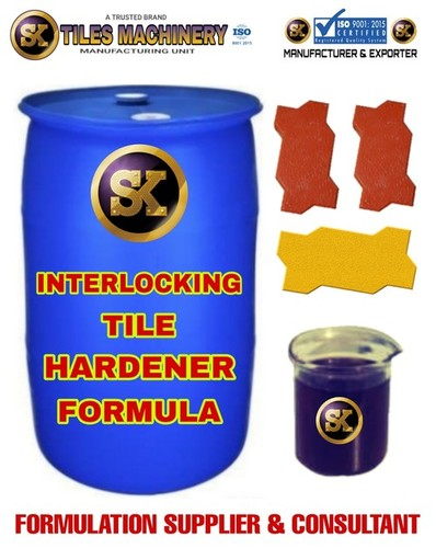 Interlocking Tile Hardener Formula