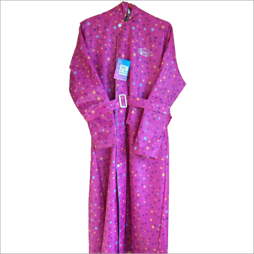 Ladies Long Raincoat
