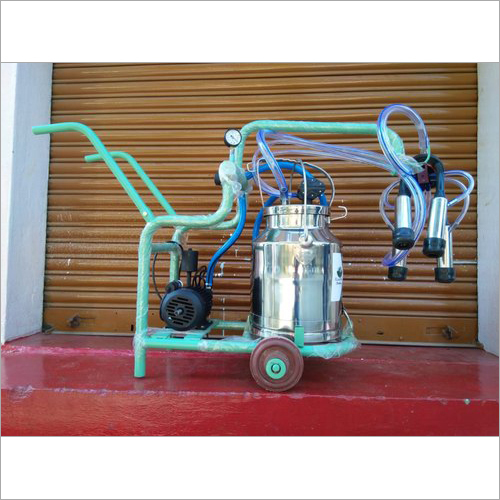 Trolley Type Milking Machine