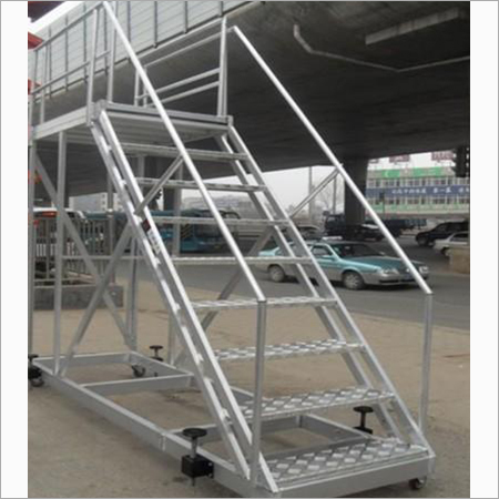 Aluminum Step Trolley Ladder