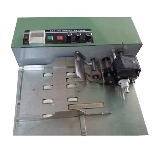Industrial Dry Ink Coding Machine