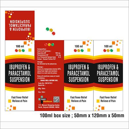 IBUPROFEN & Paracetmol Suspension