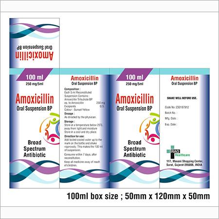 Amoxicillin Oral Suspension BP