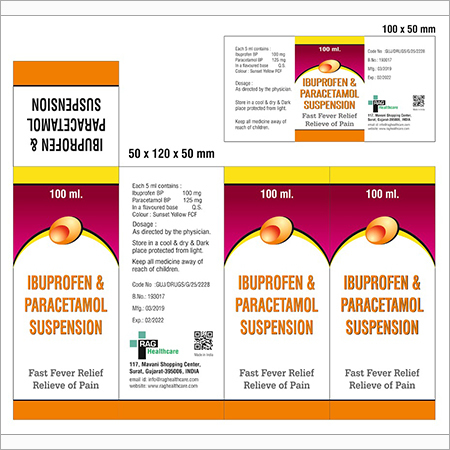IBUPROFEN & Paracetamol Suspension