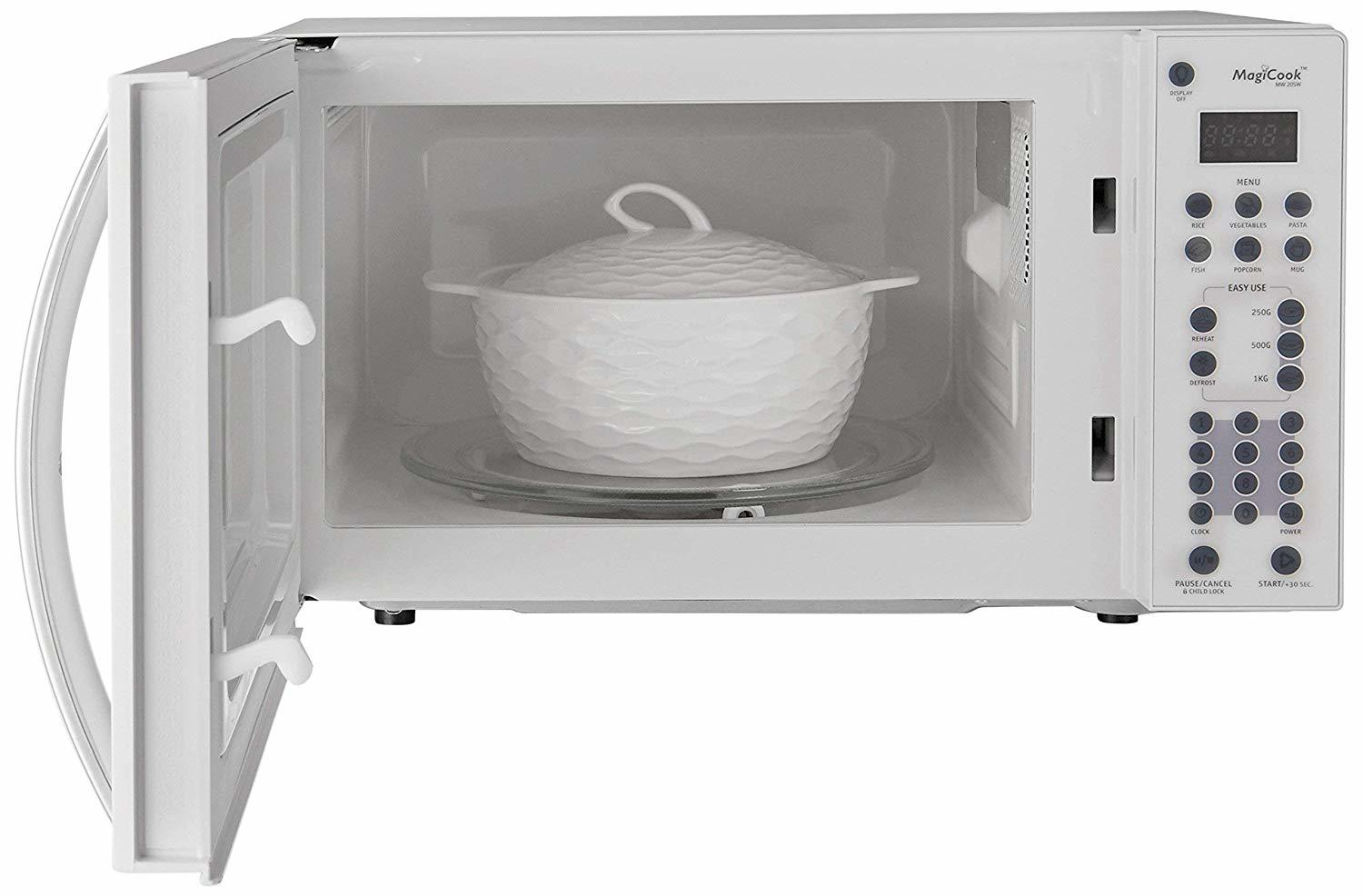 Whirlpool 20 L Solo Microwave Oven (Magicook 20SW, White)