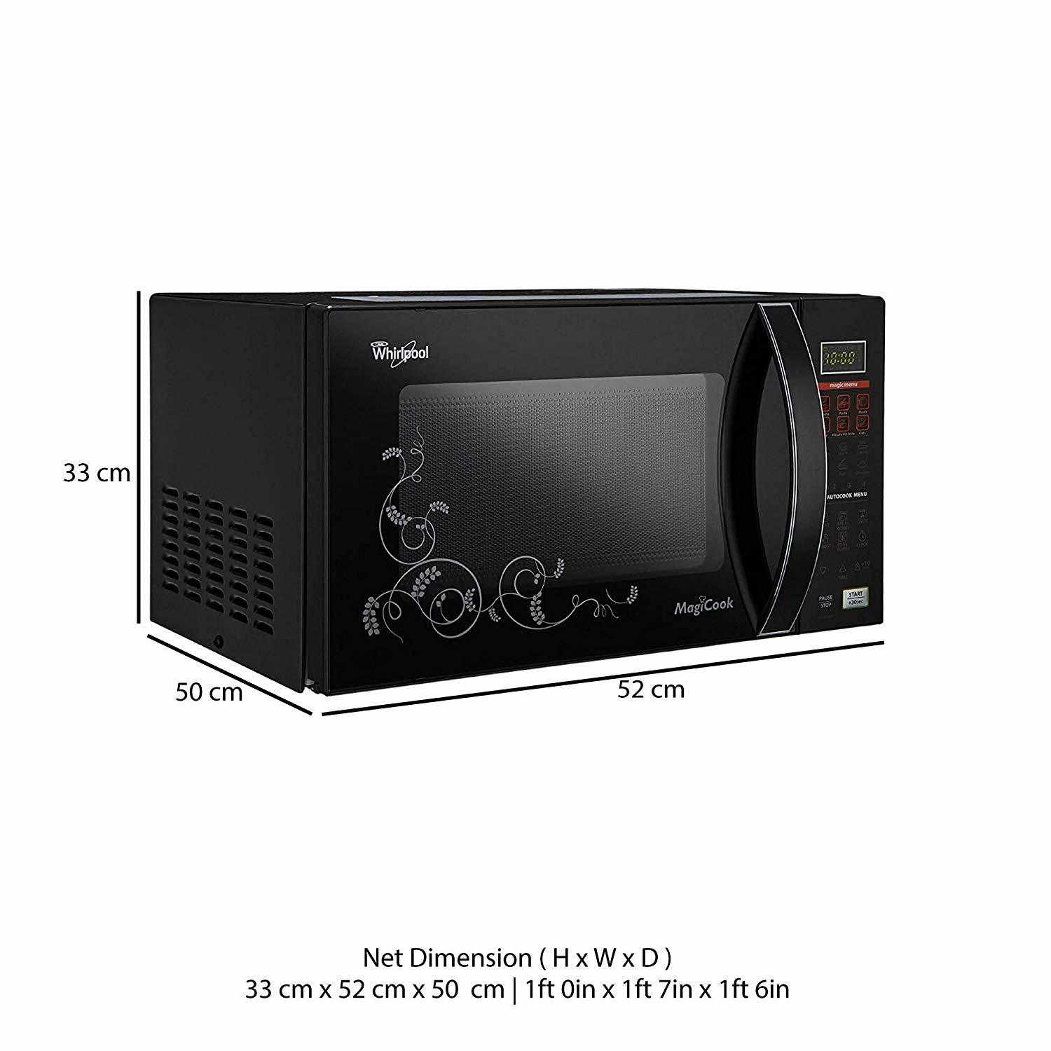 Whirlpool 20 L Convection Microwave Oven (MAGICOOK 20L ELITE-BLACK(NEW))