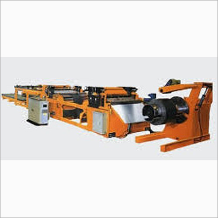 High Speed Cut To Length Machine