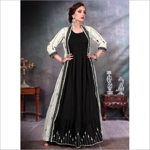 Ladies Traditional Gown With Jacket