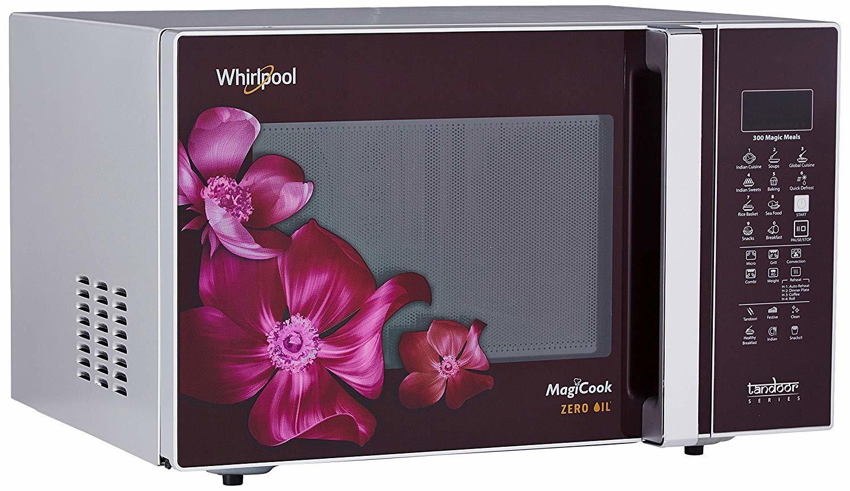 Whirlpool 30 L Convection Microwave Oven (MAGICOOK 30L WINE MAGNOLIA)