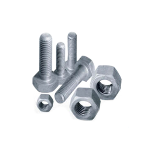 Hot Dip Galvanized Nuts & Bolts