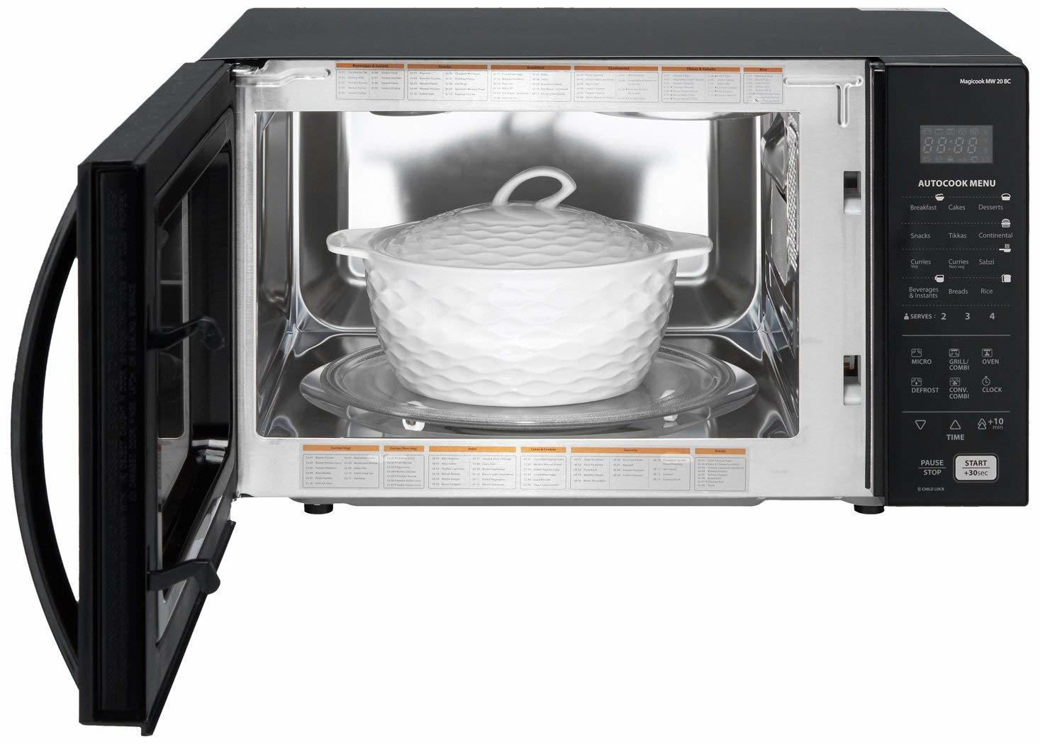 Whirlpool 20 L Convection Microwave Oven (Magicook 20BC, Black)