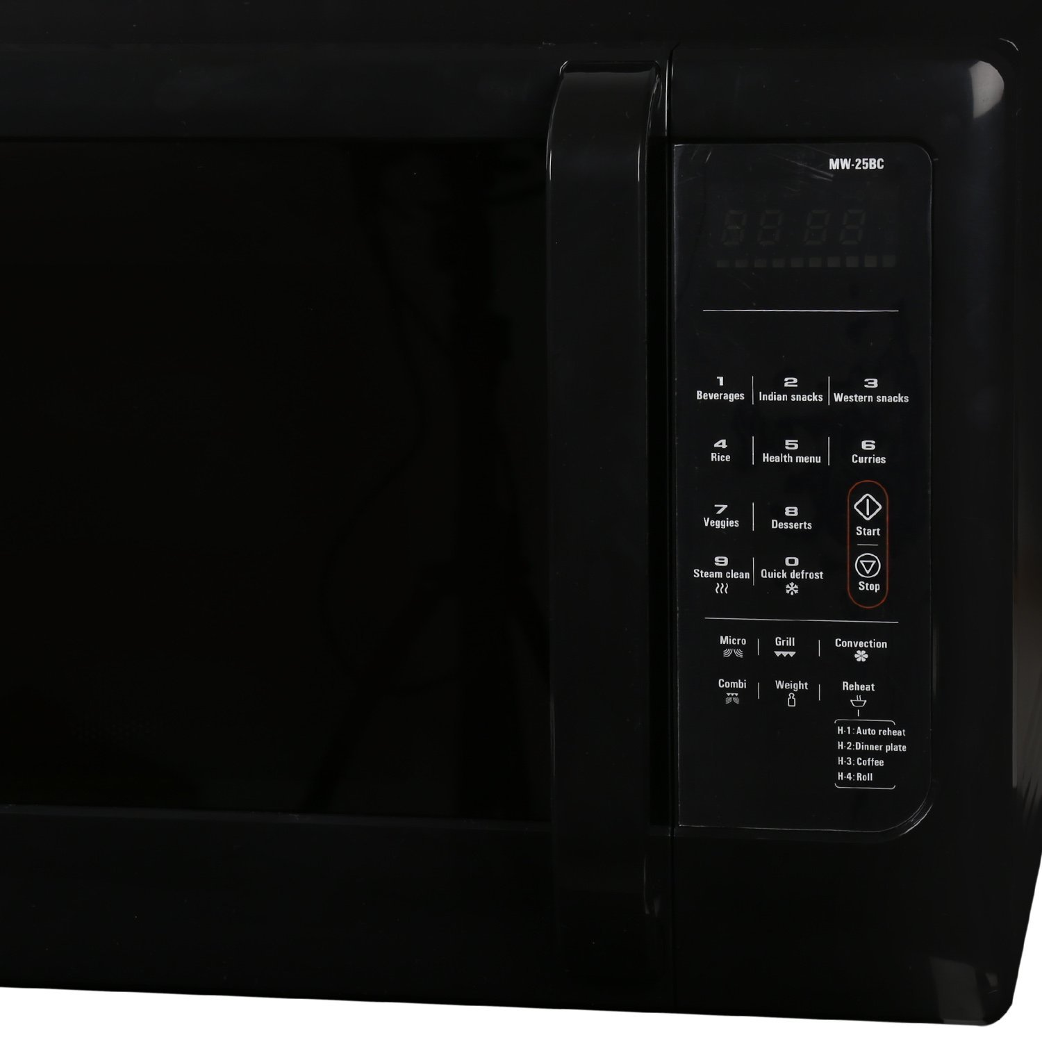Whirlpool 25 L Convection Microwave Oven (Magicook 25BC, Black)