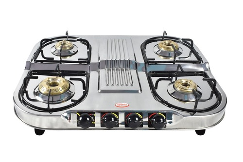 FOUR BURNER LP GAS STOVE
