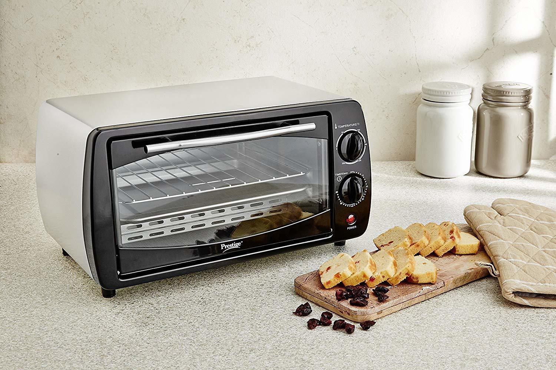 Prestige POTG 9 PC 800-Watt Oven Toaster Grill (Grey)