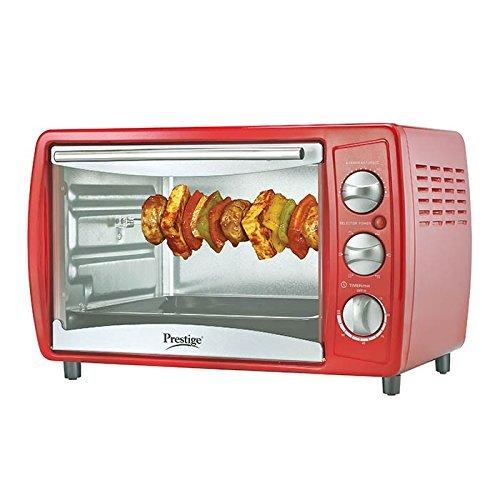 Prestige POTG 19L 41463 1380-Watt Oven Toaster Grill ,Red