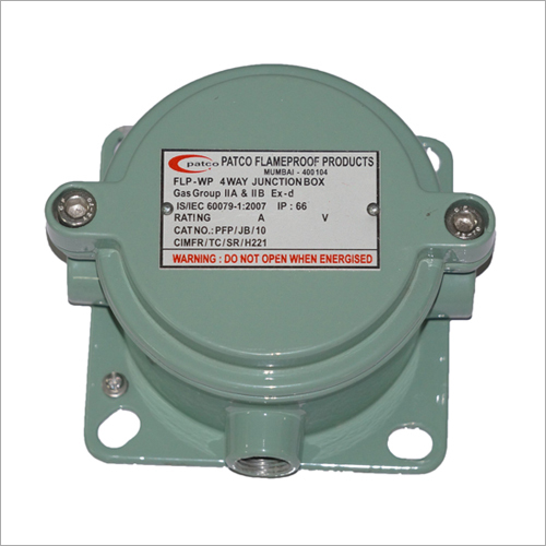 FLAMEPROOF JUNCTION BOX 1/2/3/4 WAY