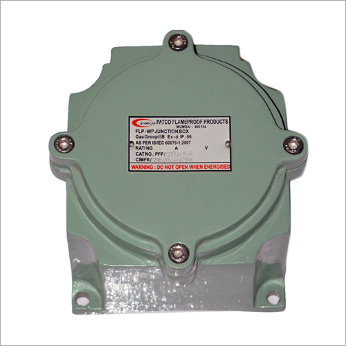 FLAMEPROOF JUNCTION BOX 150 X 150 MM