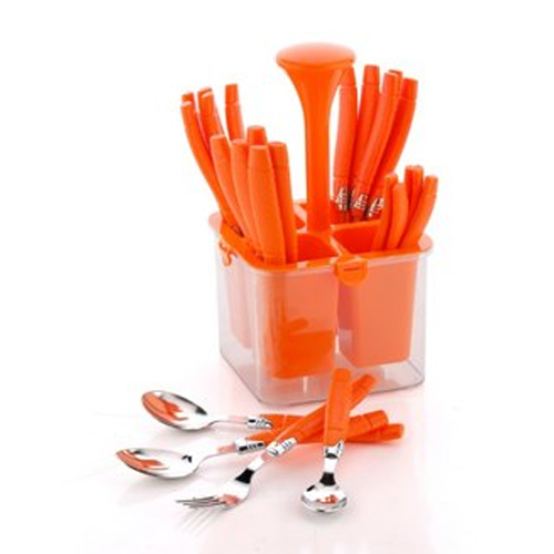 Container with cutlery