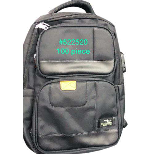 Black School Bag