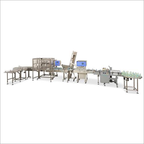 Industrial Liquid Filling Plant And Machine